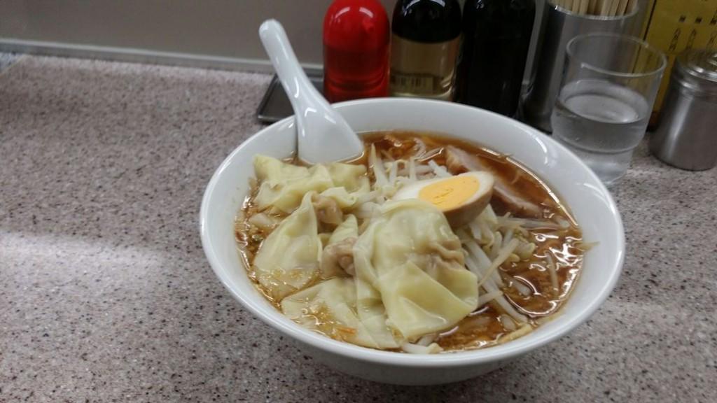 喜楽-ワンタン麺