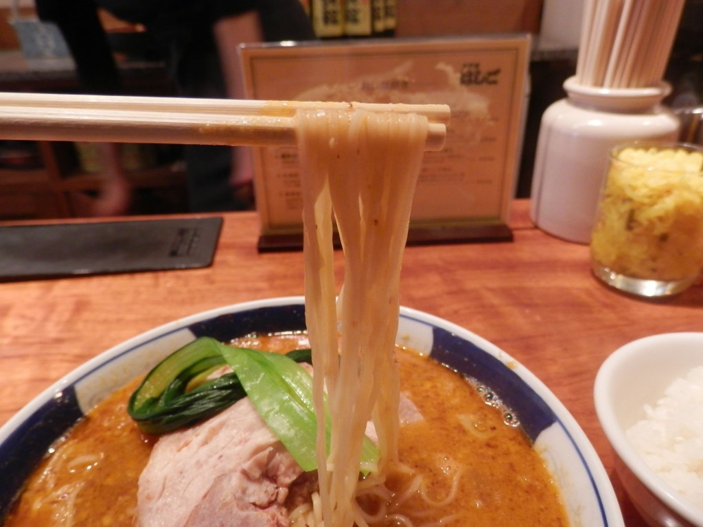支那麺はしご本店太肉担々麺