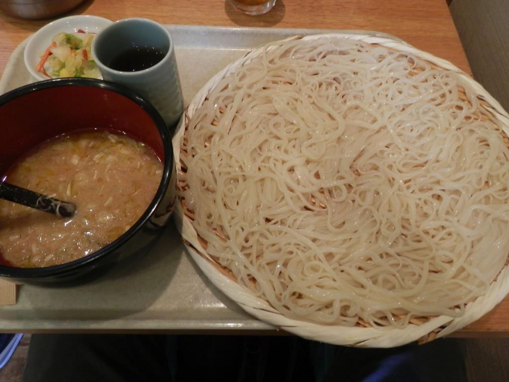 七蔵-稲庭うどん 七蔵特製スープつけ麺(中)