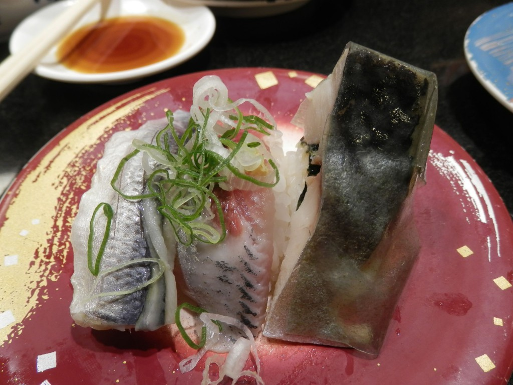 梅丘寿司の美登利 回し寿司 活 西武渋谷店